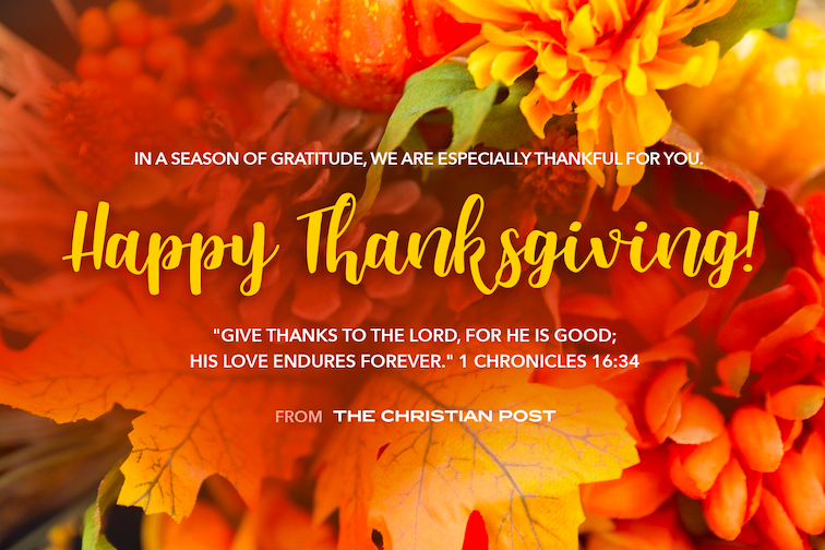 Happy Thanksgiving From The Christian Post Christianpost Com